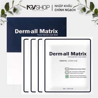 Mặt nạ dưỡng trắng da cao cấp Dermall Matrix 35g