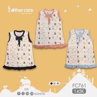 Váy ba lỗ - Gấu (Họa tiết) FC761 thumbnail