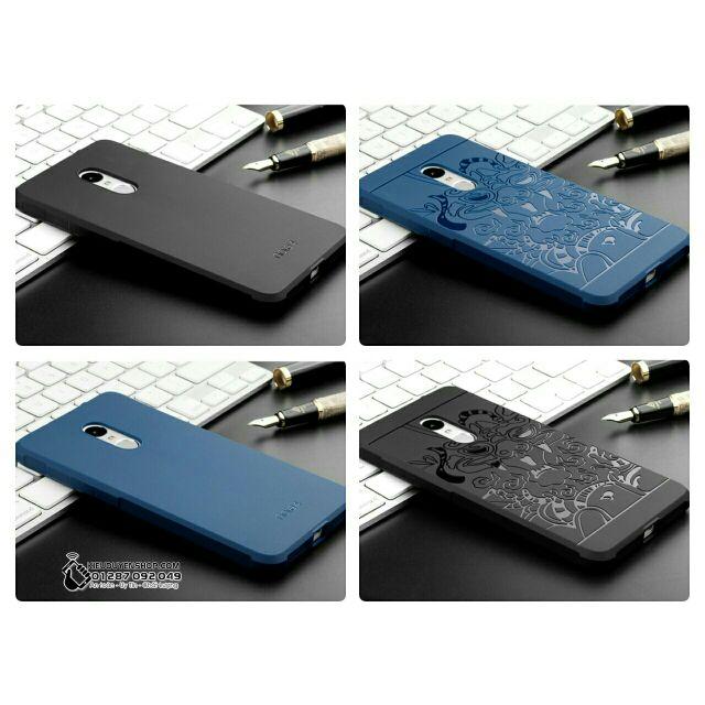 Ốp lưng Xiaomi Redmi Note 4 chính hãng và Redmi Note 4X (chip 625) chống sốc hoa văn