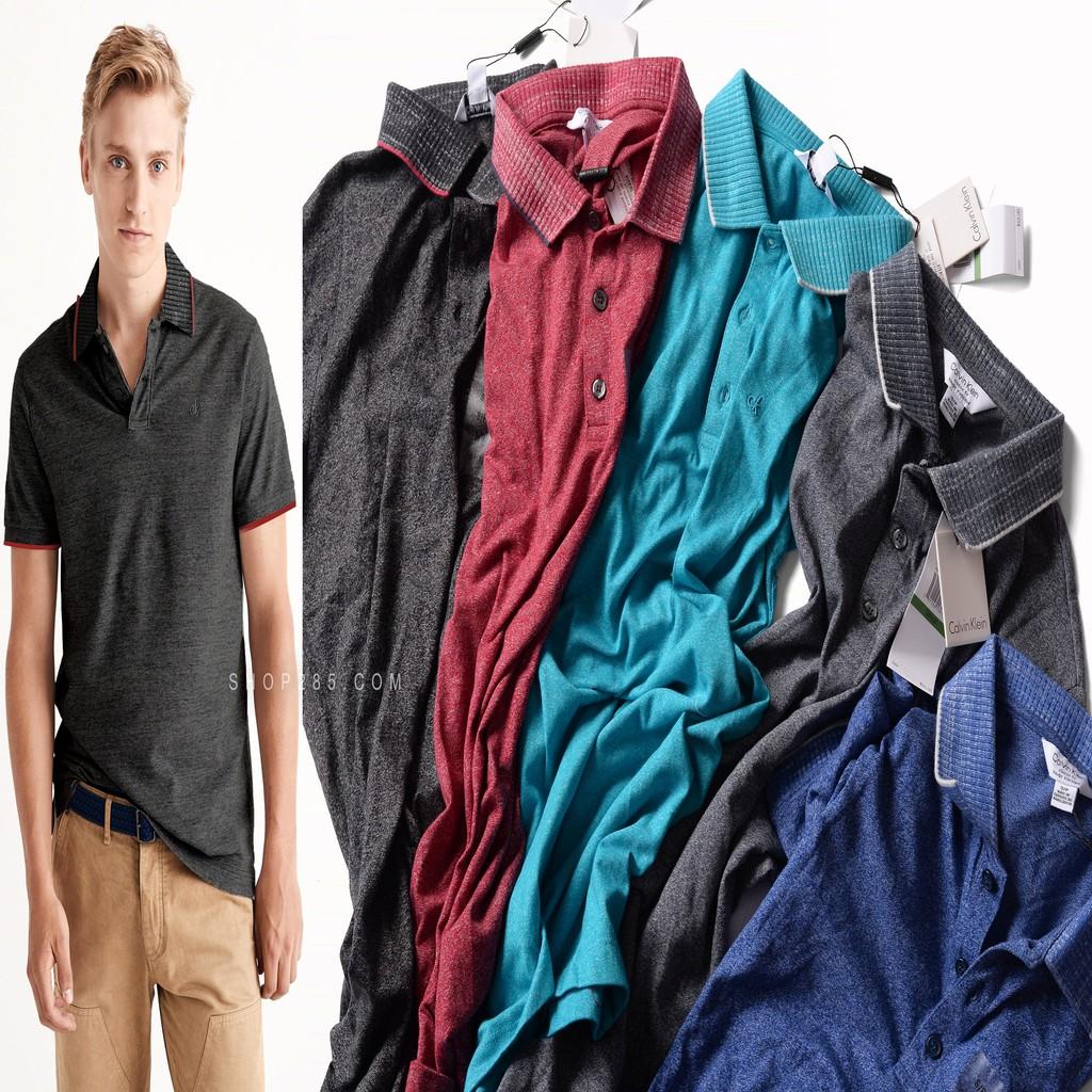 POCK1 POCK2 POCK3 - Áo thun có cổ thun lạnh đẹp | 5 màu trẻ trung với chiếc áo polo này mặc đi làm đi chơi đều OK !