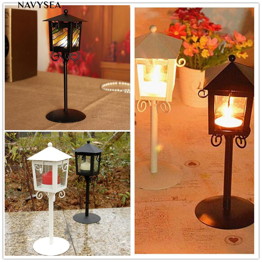 ♨Candle Holder Stand Antique Style Lantern Wedding Decor