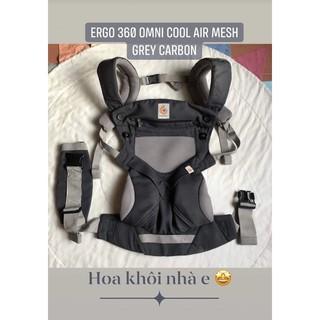 [Auth used] ĐỊU TRỢ LỰC ERGO BABY 360 CHO BÉ 0-36 THÁNG 4 TƯ THẾ