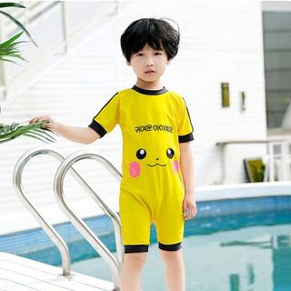 Đồ Bơi Liền Thân Hình Pikachu Cho Bé