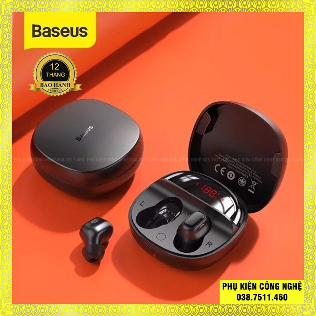 [Mã 267ELSALE hoàn 7% đơn 300K] Tai nghe bluetooth 5.0 True Wireless Earphones WM01 Plus