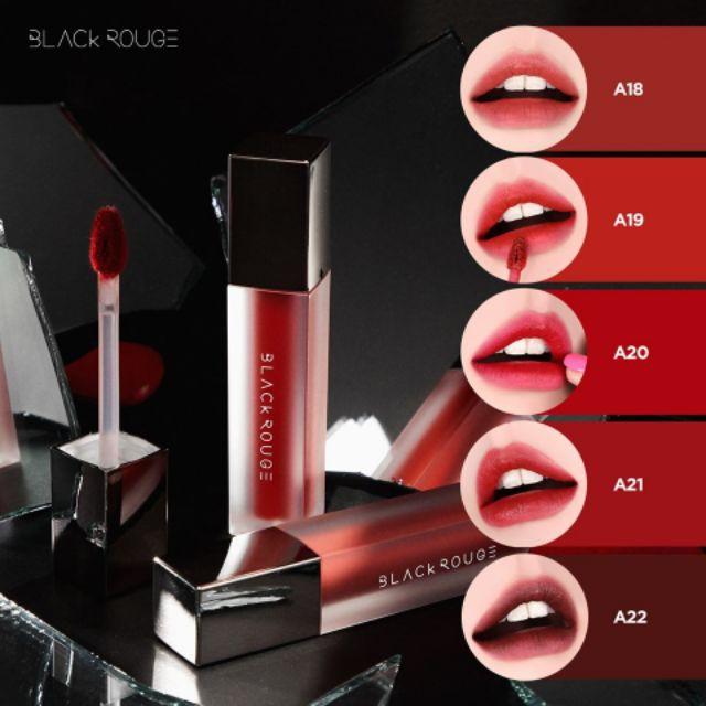 Son Black Rouge Ver 4 Bad Rose Air Fit Velvet Tint