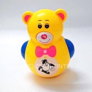 [ĐÈN và NHẠC] Đồ chơi chú gấu lật đật dễ thương