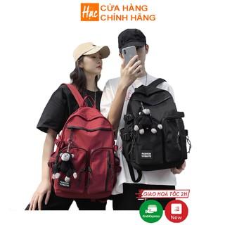 Balo nữ ba lô nam thời trang ulzzang đi học vải dù chống nước, cỡ lớn có ngăn đựng laptop 16 inch BX514LUB