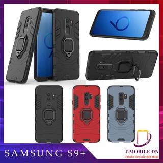 Ốp lưng Samsung S9+ S9 Plus iron man chống sốc kèm nhẫn iring chống xem video bảo vệ camera thumbnail