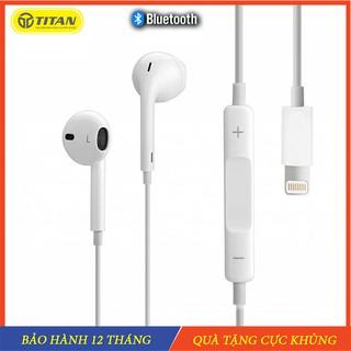 𝗧𝗮𝗶 𝗻𝗴𝗵𝗲 Iphone 6/7/8/X/11pro/12pro max, Tai nghe dây bluetooth Titan Zin Hàng Chính Hãng - Bảo hành 12 Tháng