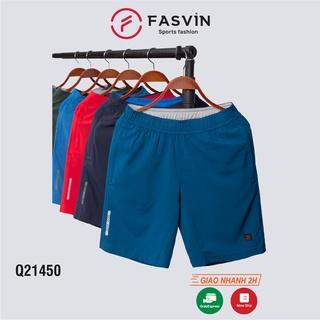 Quần đùi nam Fasvin Q21450.HN vải dù gió co giãn tiện dụng thể thao hay mặc nhà