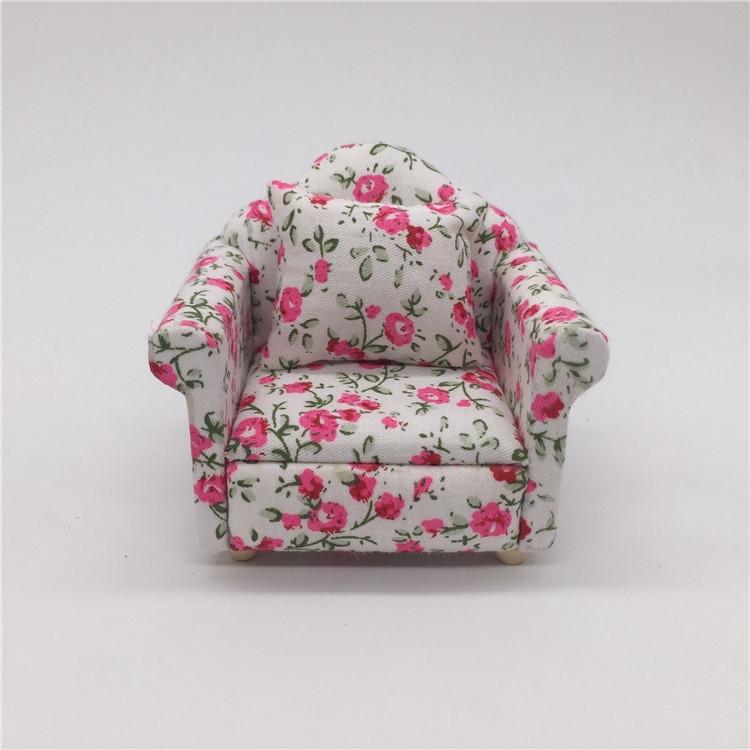 Mô hình ghế sofa tỉ lệ 1/12 đẹp mắt