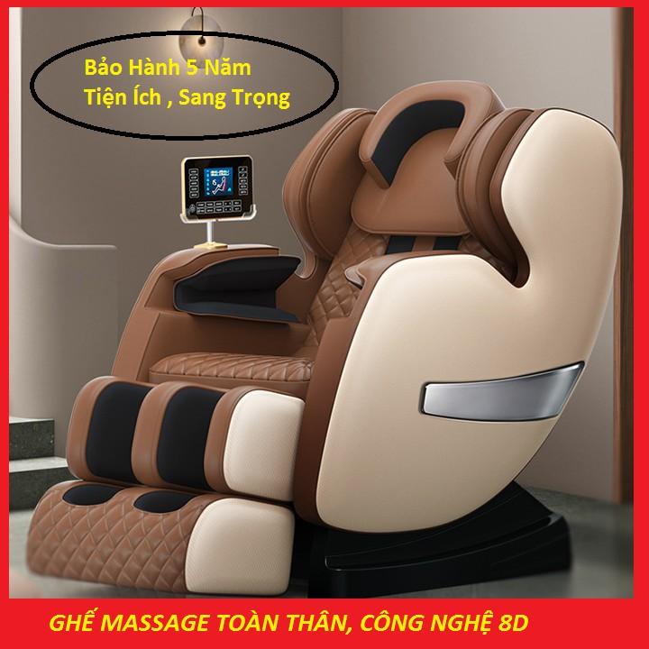 [ Siêu Vip ] Ghế Massage Toàn Thân Công Nghệ 4.0, Tích Hợp Loa Bluetooth , 15 Chức Năng Cao Cấp