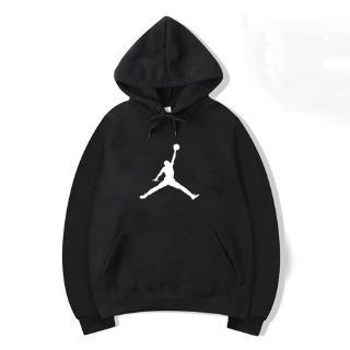 Áo hoodie tay dài in chữ Jordan cá tính cho nữ