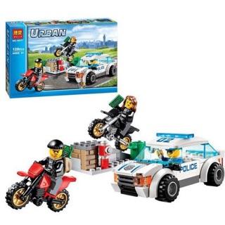 [Mã TOYDEC giảm 10% tối đa 15K đơn từ 50K] Lego Lắp Ráp Urban city 10417-Cảnh sát bắt cướp