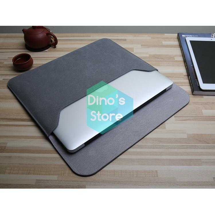 [Combo] Bao da chống sốc, chống nước cho Macbook & túi đựng phụ kiện chính hãng Taikesen