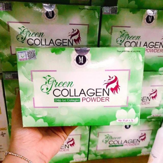 [CHÍNH HÃNG] Diệp lục colagen hỗ trợ đẹp da, giữ dáng, tiêu hóa, cân bằng nội tiết tố