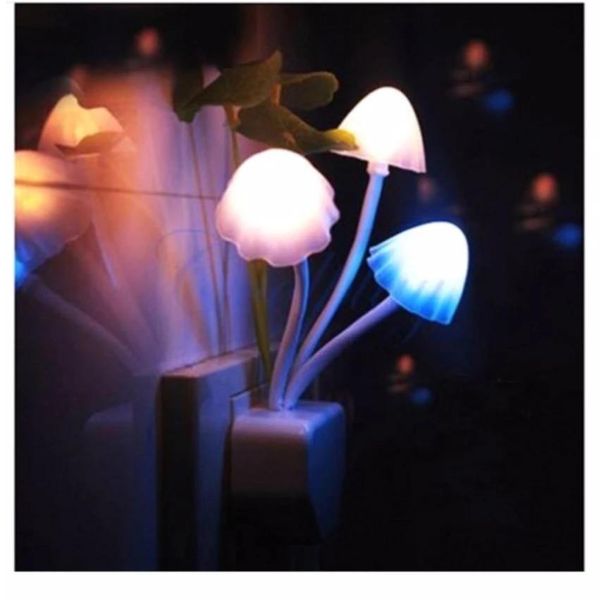 Đèn led ngủ cảm ứng hình nấm