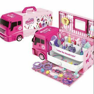 Đồ chơi xe tải bán kem - đồ trang điểm 2 trong 1 cho bé [Hàng mới về] thumbnail