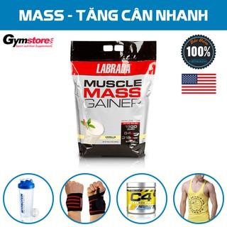 Sữa Tăng Cân Labrada Muscle Mass Gainer, 12 Lbs (5.4 KG)