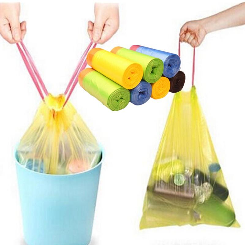 1 Cuộn 15 túi đựng rác tiện lợi