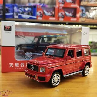 Xe mô hình hợp kim Mercedes G63 AMG tỉ lệ 1:32 màu đỏ hàng Quảng Châu