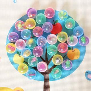 Bộ 45 Bóng Nhựa Đàn Hồi Nhiều Màu Sắc