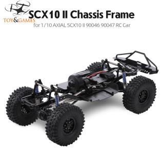 313mm 12.3-inch wheelbase assembled frame chassis for 1/10 RC tracked vehicles SCX10 SCX10 II 90046