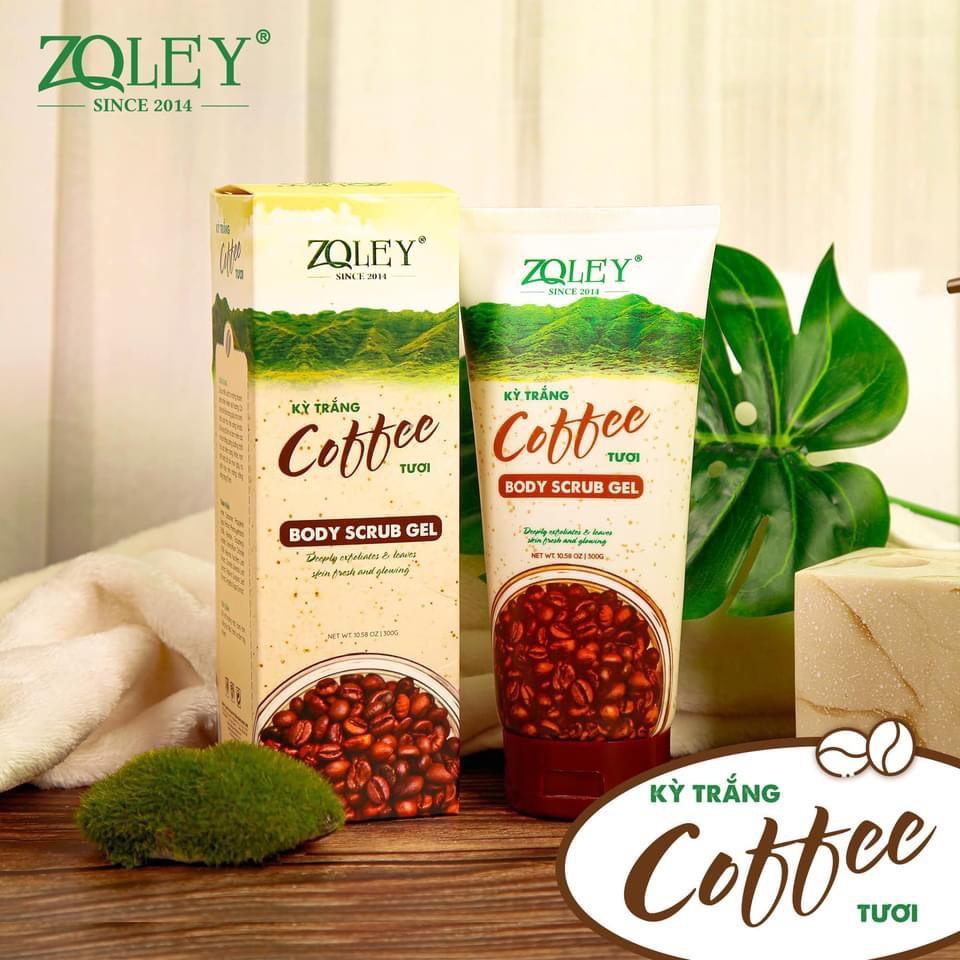 Tẩy Tế Bào Chết Coffee Body Zoley - 300Gram