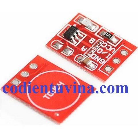 Cảm ứng chạm điện dung TTP223 mini (Module cảm ứng touch TTP223) - 3516475 , 710749983 , 322_710749983 , 8000 , Cam-ung-cham-dien-dung-TTP223-mini-Module-cam-ung-touch-TTP223-322_710749983 , shopee.vn , Cảm ứng chạm điện dung TTP223 mini (Module cảm ứng touch TTP223)