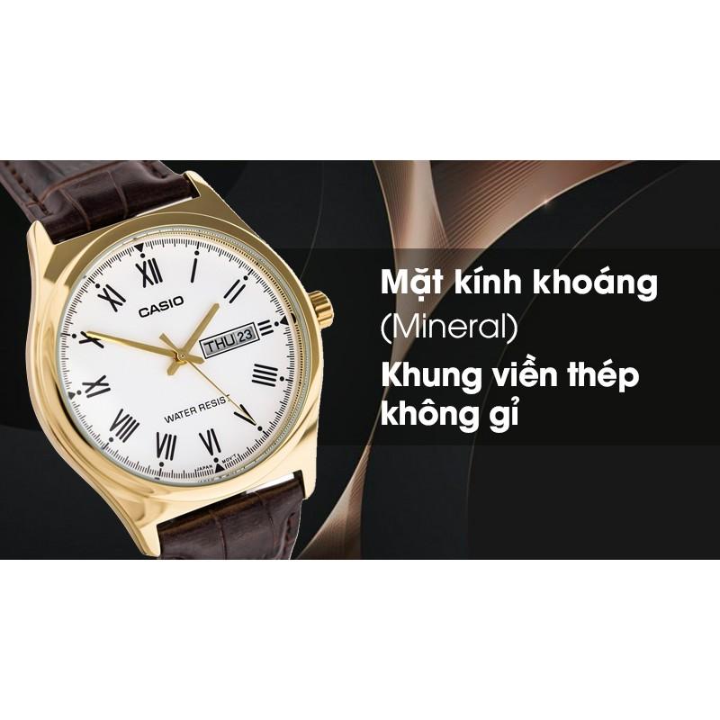 ĐỒNG HỒ CASIO NAM MTP-V006GL-7BUDF - Đồng hồ đại chúng