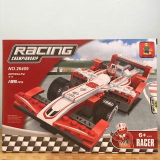 Bộ xếp hình xe đua F1 Ausini – Hàng chính hãng 100%