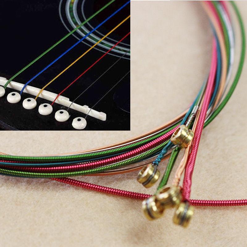 Bộ 6 dây đàn guitar nhiều màu - 14839288 , 2419046429 , 322_2419046429 , 40450 , Bo-6-day-dan-guitar-nhieu-mau-322_2419046429 , shopee.vn , Bộ 6 dây đàn guitar nhiều màu