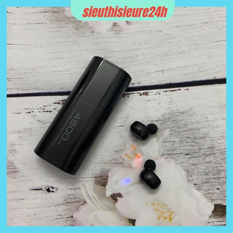 Tai Nghe Bluetooth 💥FREESHIP💥 Tai nghe Không Dây 5.0 TWS S11 Dock Sạc 4800Mah Chống Nước IPX5
