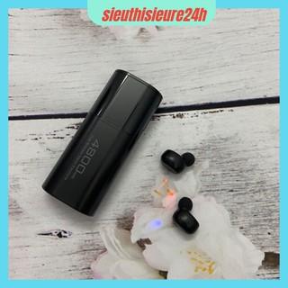 Tai Nghe Bluetooth 5.0 TWS S11 ❤️FREESHIP❤️ Tai Nghe Không Dây Dock Sạc 4800Mah - Tai Nghe Chống Nước IPX5
