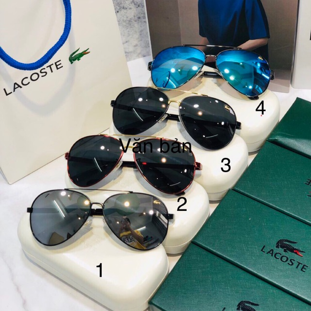 Kính lacoste sunglasses for men siêu xịn siêu sang