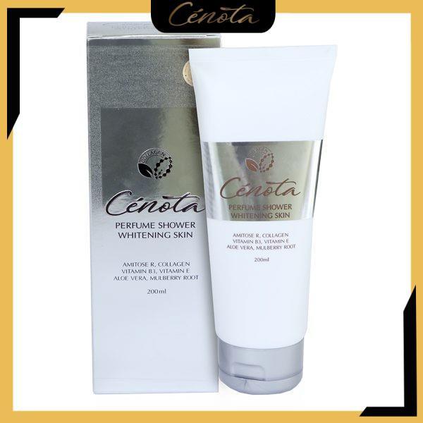 Sữa tắm trắng da hương nước hoa, sữa tắm trắng da Cenota Perfume Shower Whitening Skin 200ml mã CN11 Shino_cosmetic