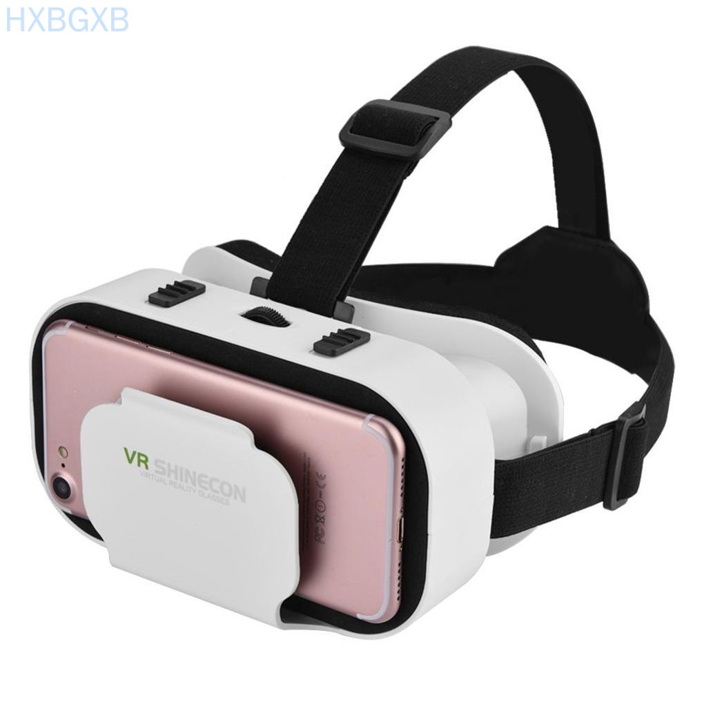HXBG VR Shinecon 5.0 3D SC-G05A Glasses VR Movies Games Headset for iPhone for Samsung Virtual Reality Helmet