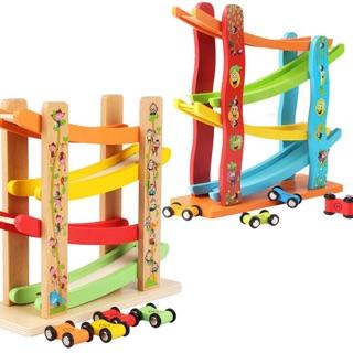 Cầu trượt 4 tầng – đồ chơi gỗ