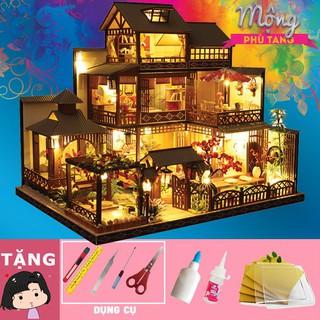 Mô hình nhà gỗ tự ráp Mộng Phù Tang