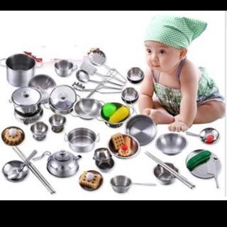 Sét nấu ăn cho bé 25 chi tiết giá chỉ 189k