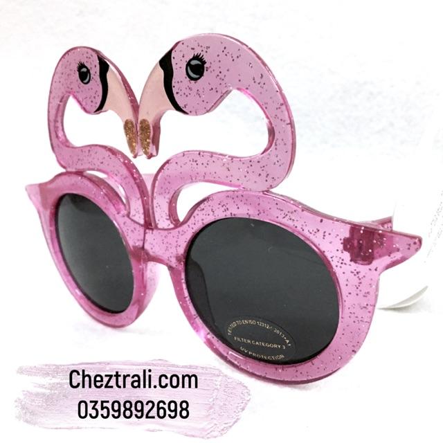 Kính thời trang flamingo Primark xách tay Pháp cho bé gái 3-5 tuổi