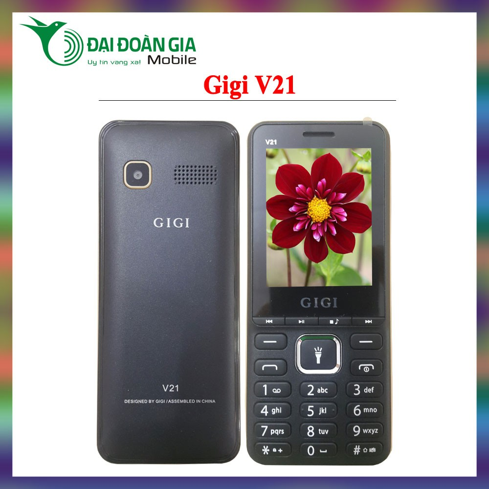 Điện thoại giá rẻ Gigi V21 - Hàng chính hãng - Đèn pin siêu sáng - 3535176 , 1090479562 , 322_1090479562 , 300000 , Dien-thoai-gia-re-Gigi-V21-Hang-chinh-hang-Den-pin-sieu-sang-322_1090479562 , shopee.vn , Điện thoại giá rẻ Gigi V21 - Hàng chính hãng - Đèn pin siêu sáng