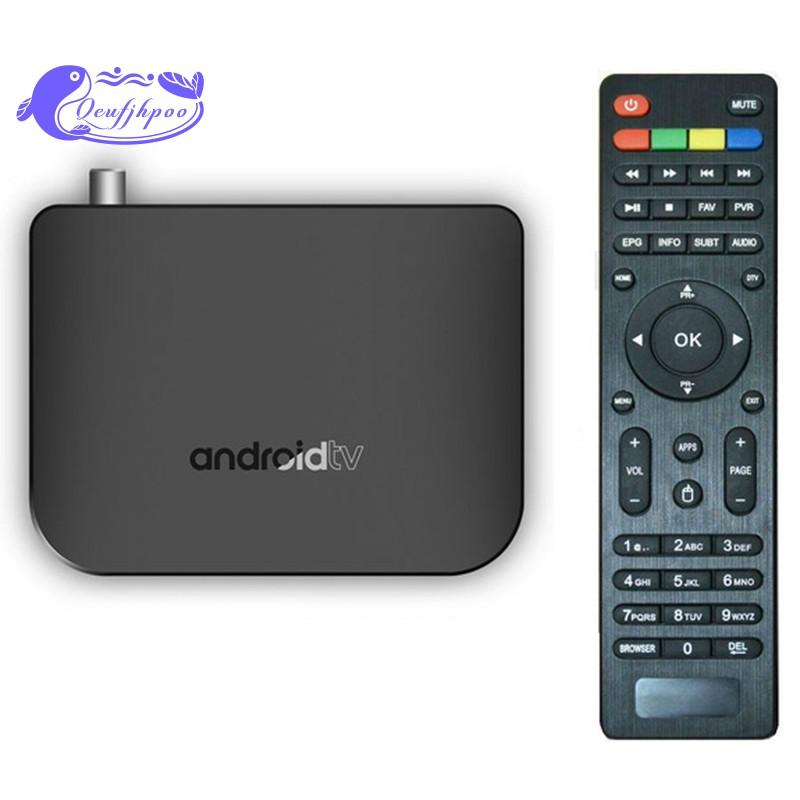Bộ TV Box DVB-T2 / T truyền thông minh M8S Plus DVB Smart 4K Android 7.1 TV Box DVB-T2