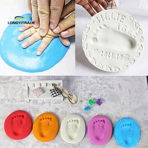 Footprint Record Air Drying  Clay Imprint Parent-Child Inkpad