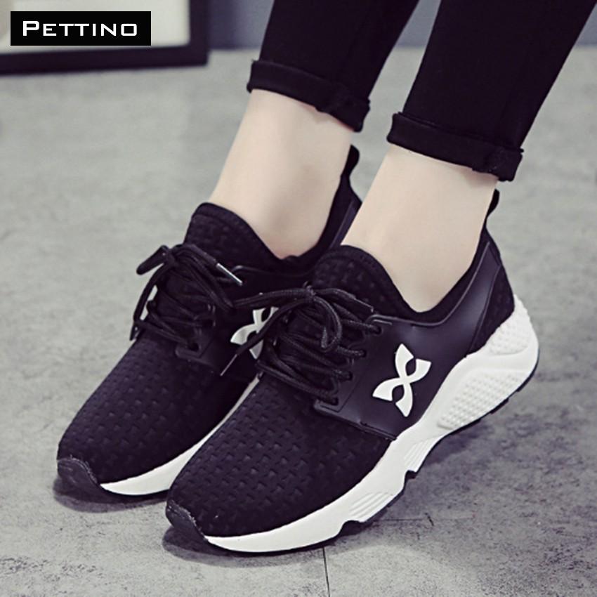 [FREESHIP TỪ 99K HN+HCM] Giày Sneakres Nữ Thời Trang - Pettino MT03