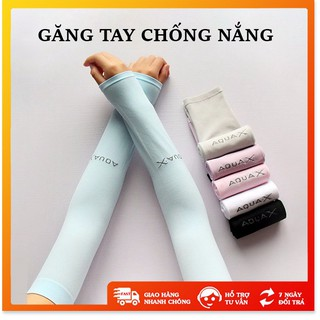Găng tay chống nắng - Xả Kho - Găng tay chống nắng aqua chất liệu thun lạnh co giãn tốt thumbnail