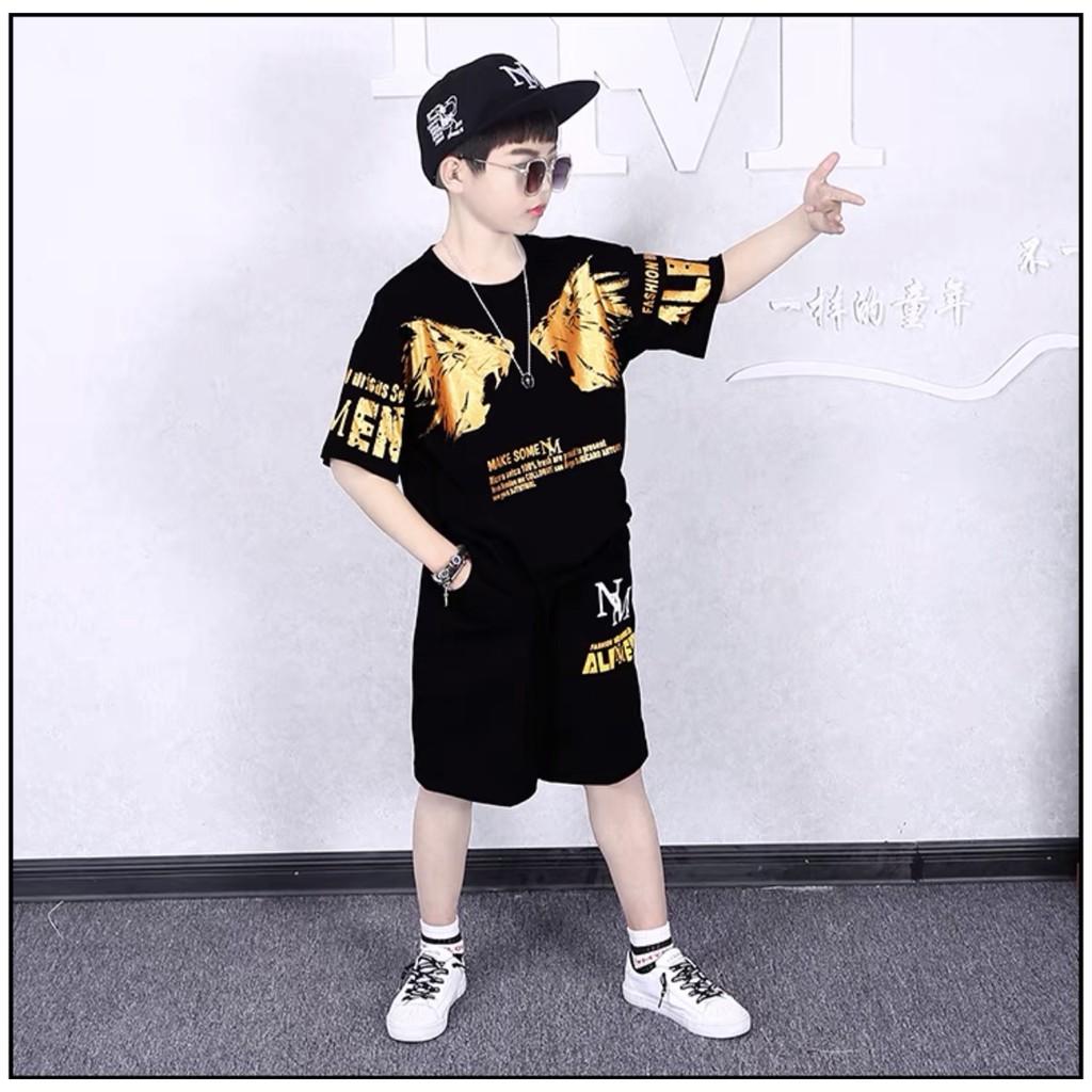 [Mã SKAMCLU7 giảm 10% cho đơn từ 0Đ] Bộ đồ bé trai 18-40kg. Quần áo trẻ em 5-14 tuổi tilot hàn quốc mã 150