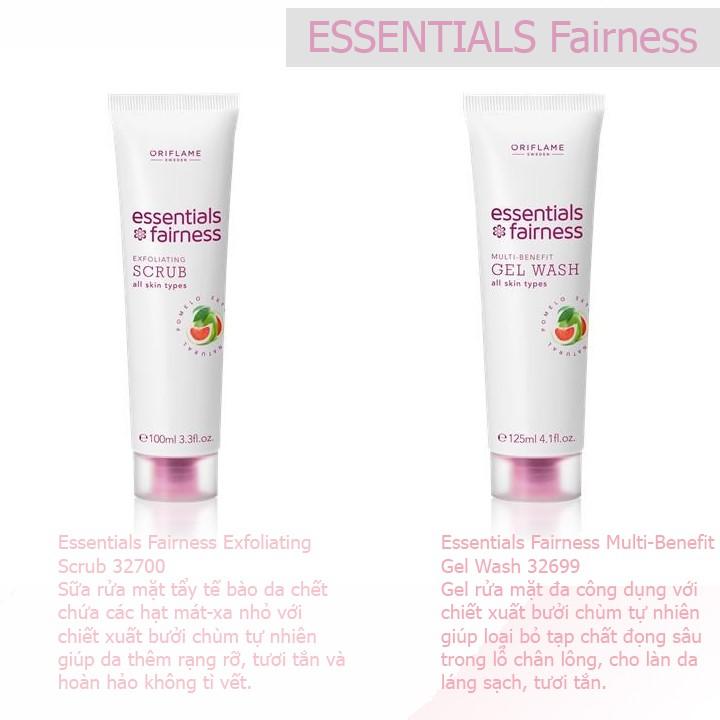 Sữa rửa mặt tẩy da chết Essentials Fairness - Oriflame 32700 - 2490282 , 655572243 , 322_655572243 , 61000 , Sua-rua-mat-tay-da-chet-Essentials-Fairness-Oriflame-32700-322_655572243 , shopee.vn , Sữa rửa mặt tẩy da chết Essentials Fairness - Oriflame 32700