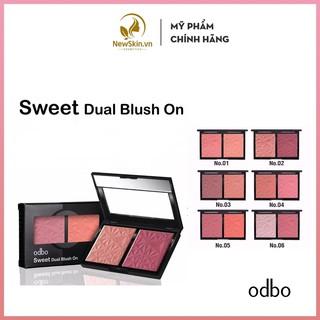 Phấn Má Hồng 2 ô ODBO Sweet Dual Blush On (OD160) thumbnail