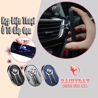 Giá đỡ điện thoại dán lưng , xoay 360 độ, giá đỡ điện thoại để lỗ thông hơi ô tô